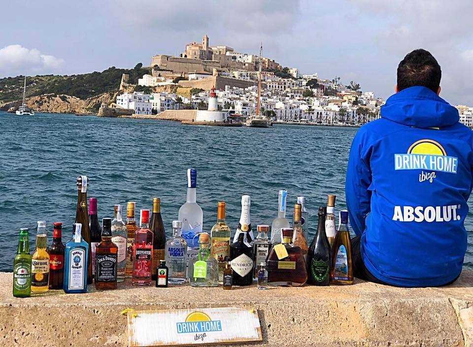 Delivery alcohol ibiza new bottles